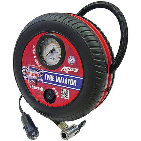 Faithfull FAIAUTYINFLO Low Volume Tyre Inflator 12V