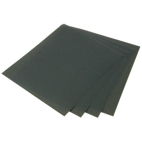 Faithfull FAIAWDP120 Wet & Dry Paper Sanding Sheets 230 x 280mm C120 (25)