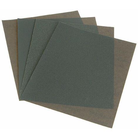 Faithfull FAIAWDP4M Wet & Dry Paper Sanding Sheets 230 x 280mm Medium (4)