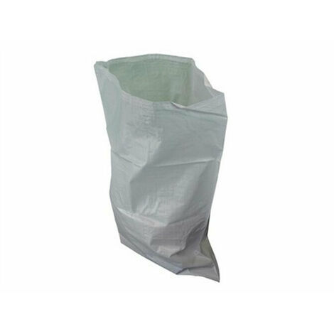 Faithfull FAIBAGRS5W Woven White Rubble Sacks (Pack 5)