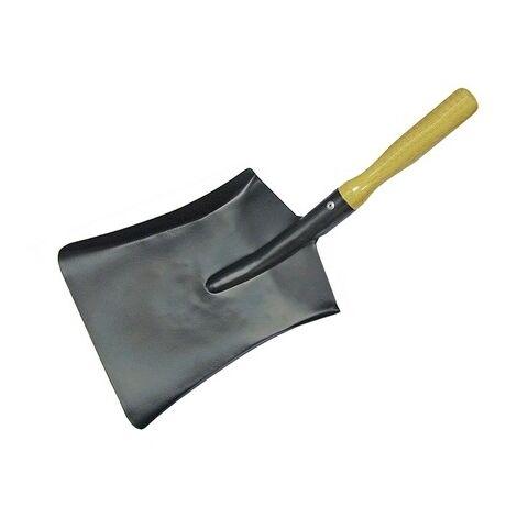 Faithfull FAICOALS9 Coal Shovel Steel Wooden Handle 230mm