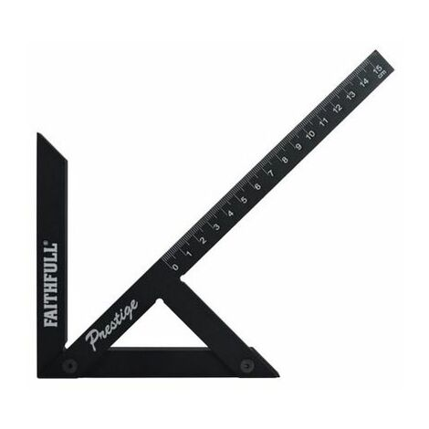 Faithfull FAICSQ15CNC Prestige Centre Finder Gauge Black Aluminium 150mm