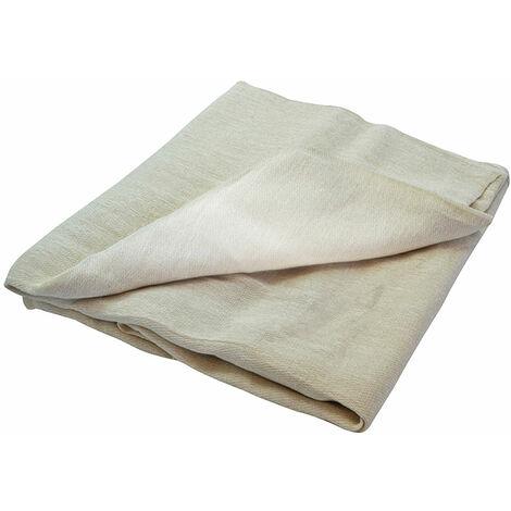 Faithfull FAIDSPC128N Cotton Twill Polythene Backed Dust Sheet