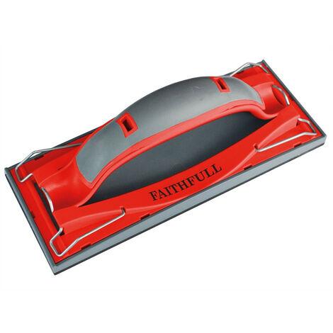 Faithfull FAIDWHAND Drywall Quick Grip Hand Sander 223 x 85mm (8.3/4 x 3.1/3in)