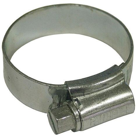 Faithfull FAIHC1XB 1X Hose Clip - Zinc MSZP 30 - 40mm