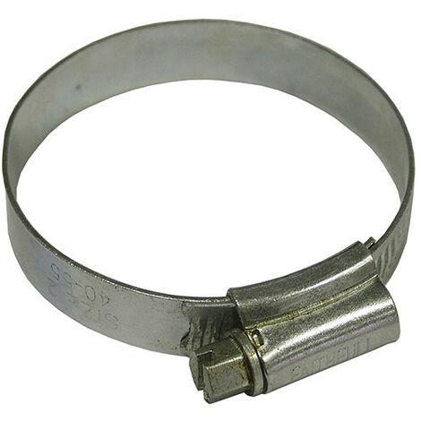 Faithfull FAIHC2B 2 Hose Clip - Zinc MSZP 40 - 55mm