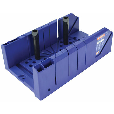 Faithfull FAIMBP Plastic Mitre Box with Pegs