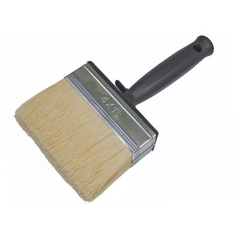 Faithfull FAIPBWCARE Woodcare Shed & Fence Brush 120mm (4 3/4in)