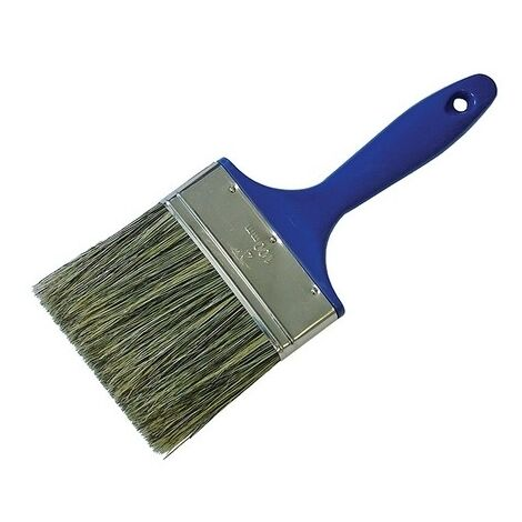 Faithfull FAIPBWOOD Shed & Fence Brush 100mm (4 in)