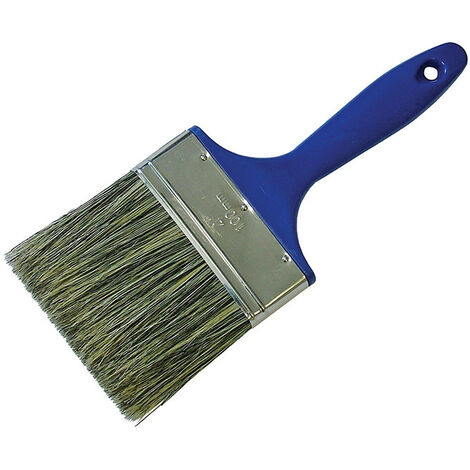 Faithfull FAIPBWOOD Shed & Fence Brush 100mm (4in)