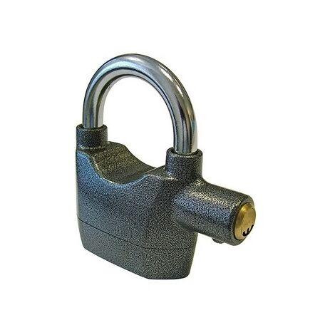 Faithfull FAIPLALARM Padlock with Security Alarm 70mm