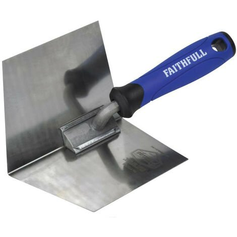 Faithfull FAIPTICTSS Prestige Internal Corner Trowel 125 x 100mm (5 x 4in)
