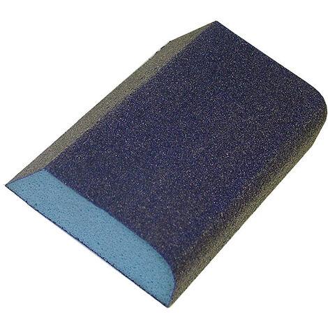 Faithfull FAISBCOMBI Combi Foam Sanding Block 90 x 75 x 25mm