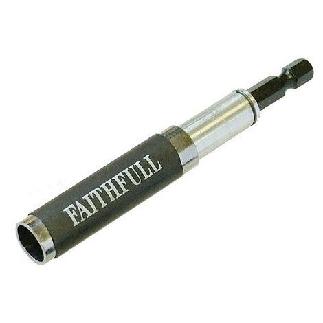 Faithfull FAISBMBHFIND Magnetic Bit Holder,Finder & Guide 80-115mm