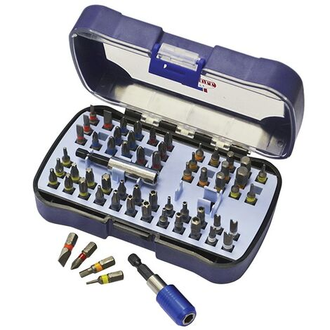 Faithfull FAISBSET60 Screw Bit Set of 60