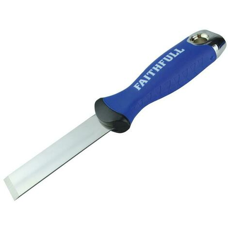 Faithfull FAISGSK25ME Soft Grip Stripping Knife 25mm