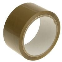 Faithfull FAITAPEPAR Parcel Tape 48mm x 50m Brown