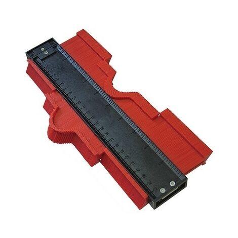 Faithfull FAITLPROF Profile Gauge Plastic 250mm