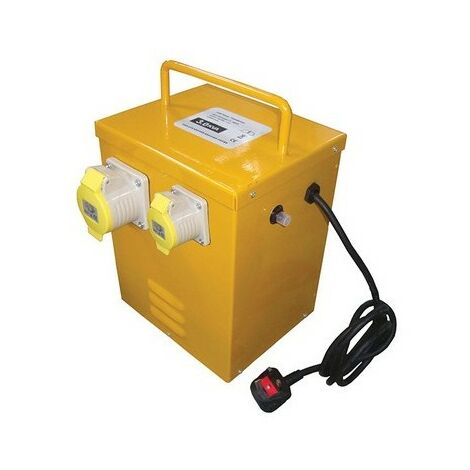 Faithfull FPPTRANHEAT Heater Transformer 3KVA Continuous Rate