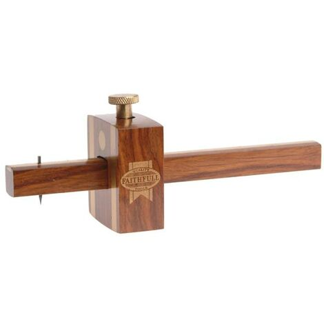 Faithfull - Gramil de carpintero con tornillos, capacidad máxima 140 mm - 11096