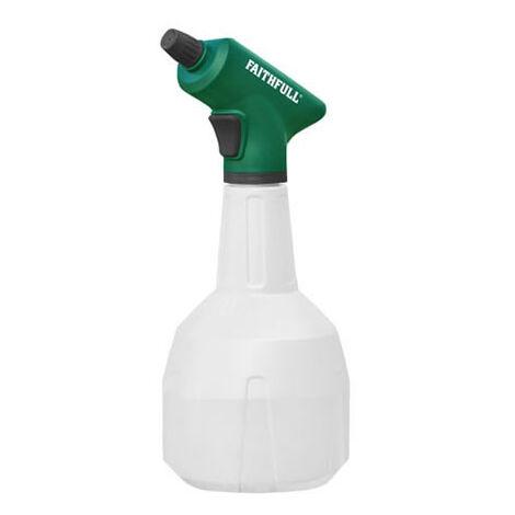 Faithfull Handheld Battery Powered Sprayer 1 litre