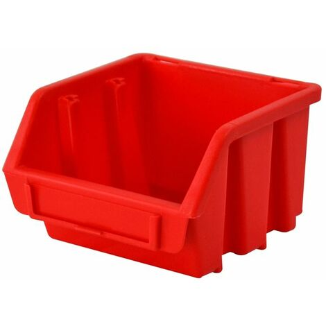 Interlocking Storage Bin Size 1 Red 116 x 112 x 75mm (FAITBBIN1)