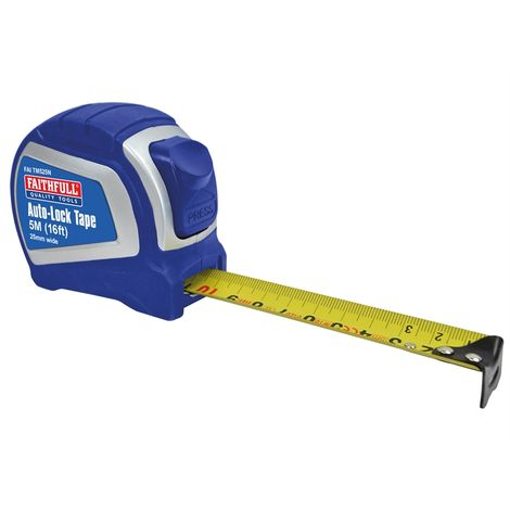 Tape Measure 5m/16ft (Width 25mm)