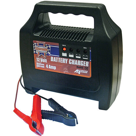 Faithfull Power Plus FPPAUBC4AMP Battery Charger 20-65ah 4 amp