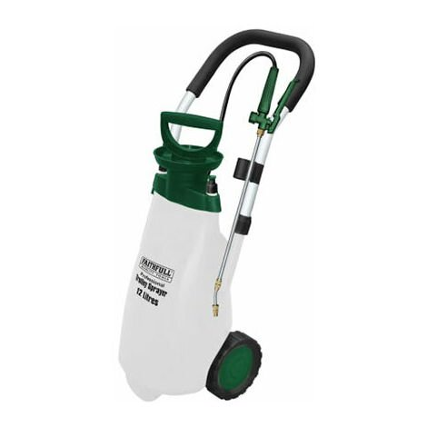 Faithfull Professional Trolley Sprayer with Viton® Seals 12L