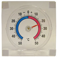 Faithfull Thermometer Stick On-window