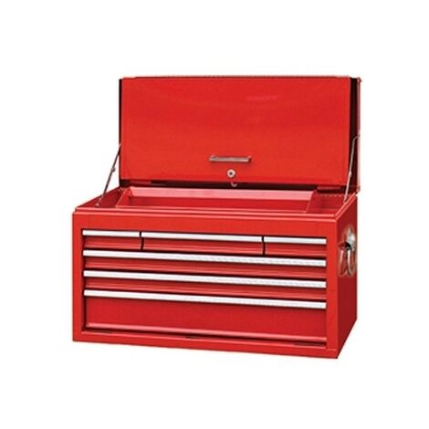 Faithfull FAITBCAB6 Toolbox, Top Chest Cabinet 6 Drawer