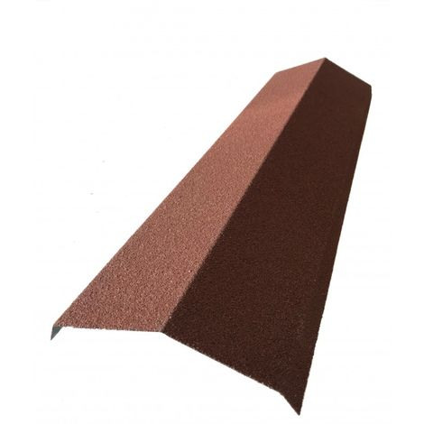 Faîtière 920 mm pour panneau tuile facile en acier galvanisé aspect granulé minéral