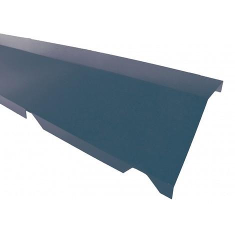 Faitière crantée double pour bac acier 1045 - L 2100mm