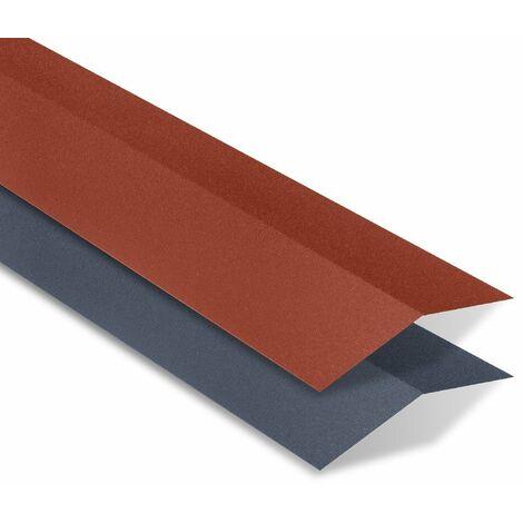 Faîtière double mat texturé pour panneau imitation tuiles - IRIS®