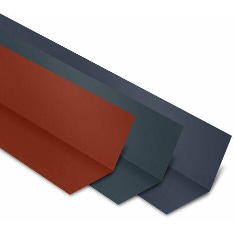 Faîtière Plate Contre Mur 2100 mm Acier Laqué