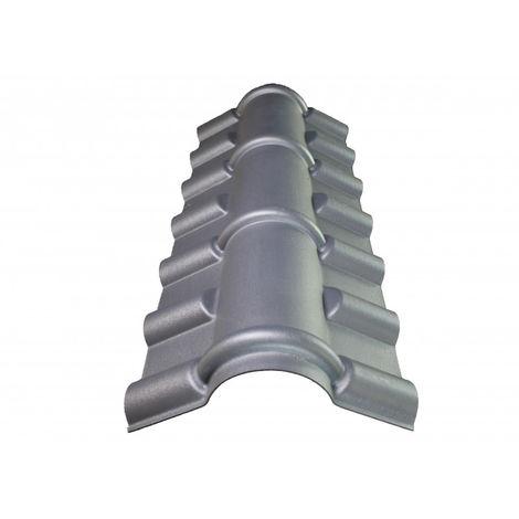Faîtière PVC pour toiture imitation tuile mini