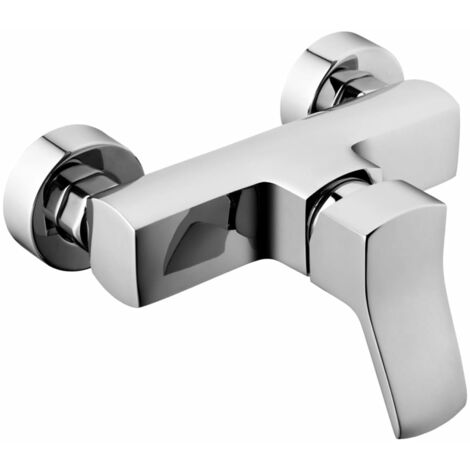 Fala Wall-Mounted Shower Tap Soria Brass 75763