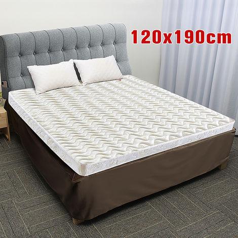 Falda de cama billetera de corte elástico fácil 120 X 190 cm D Hasaki