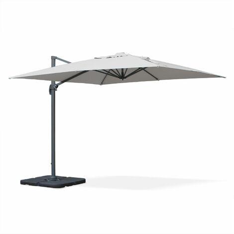"main image of ""Square cantilever parasol - 3x3m - Falgos"""