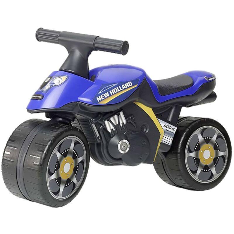 Image of Ride-on Motorbike New Holland Baby Moto Blue - Blue - Falk