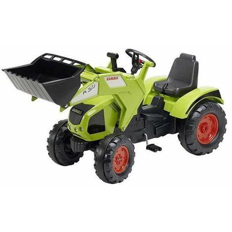 FALK Tracteur a pédales CLAAS Axos 330 avec roues a bandage anti-bruit
