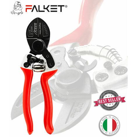 FALKET 2010 EVO MOON, FORBICI PROFESSIONALI DOPPIO TAGLIO, TEFLON 21 CM