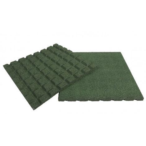 Fallschutzmatte mit Steckverbinder in verschiedenen Farben