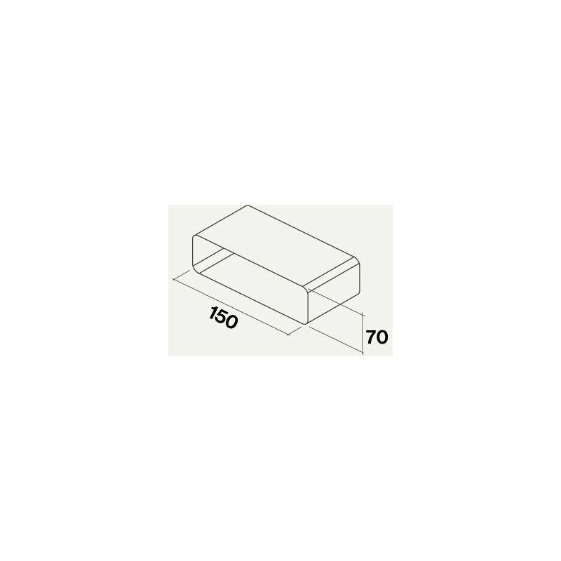 Falmec manchon pour raccorder gaine plate rectangulaire | 220*90