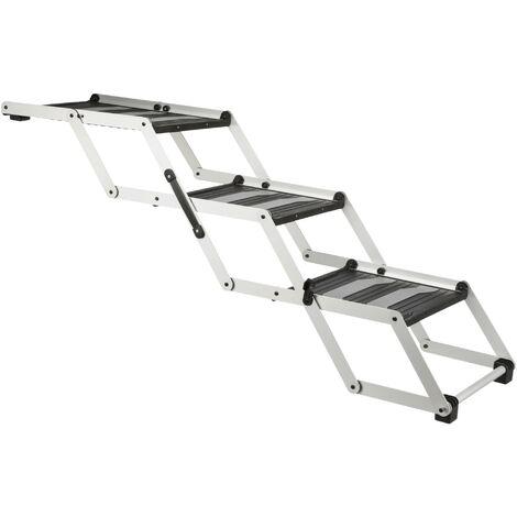 Falt folding stairs -Treppe. Dog car accessory.3 steps.