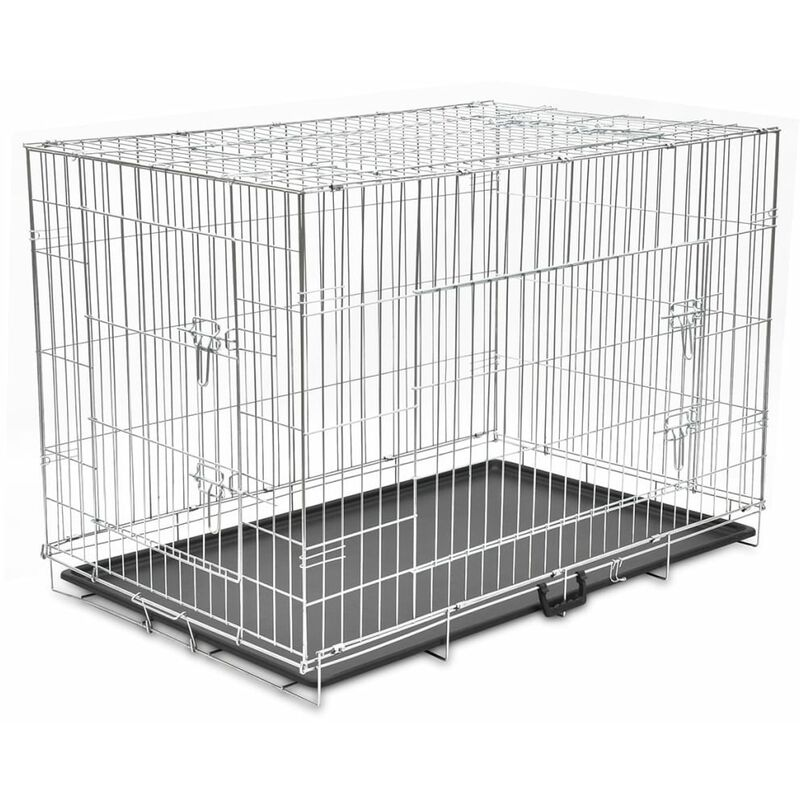 faltbare hundebox metall xxl. Black Bedroom Furniture Sets. Home Design Ideas