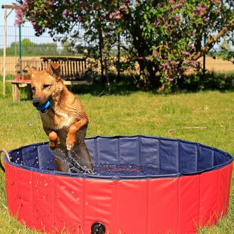 Faltbarer Hundepool, Schwimmbecken für Hunde, Hundebad, (verschiedene Größen)