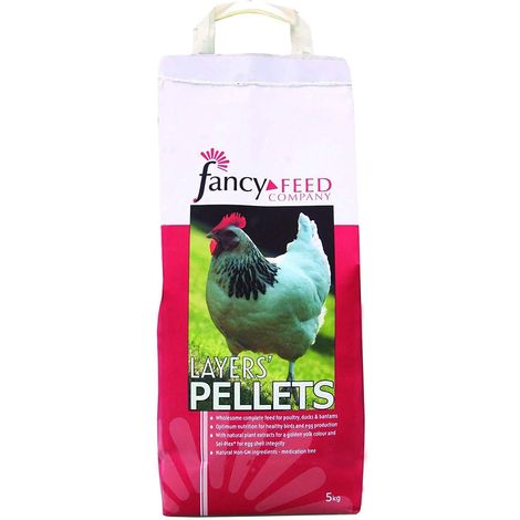 Fancy Feeds Layers Pellets Poultry Feed (5kg) (May Vary)
