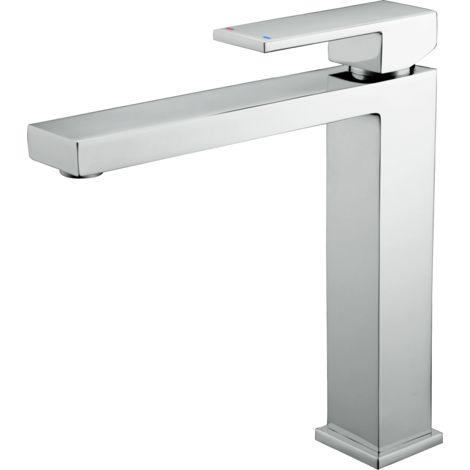 Fangolo mitigeur lavabo haut chromé - Chromé