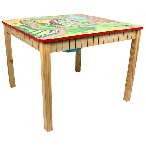 Fantaisie Champs - Jouet Meubles -Happy Table Ferme TD-11324A1